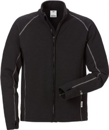 Fristads Flamestat Fleece Jacket 7044 MFR (Black)
